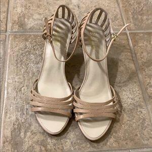 Beige Heels size 8 1/2